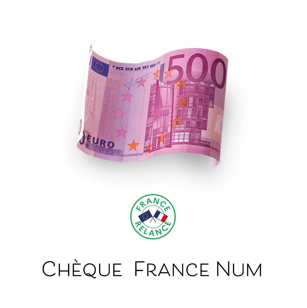 Aide à la création d'un site internet - Chèque france num